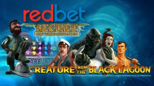 5 automater, 25 gratis spinn, 1 genialt casino! Få automatene dine hos Redbet