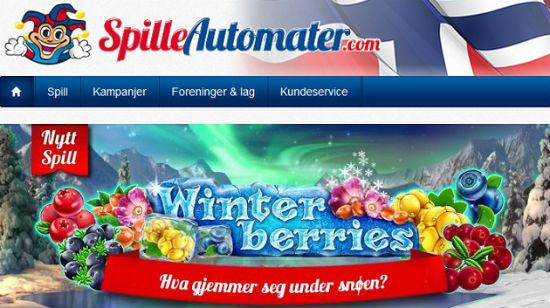 Velkomstbonus på € 500 blir virkelighet hos Spilleautomater.com