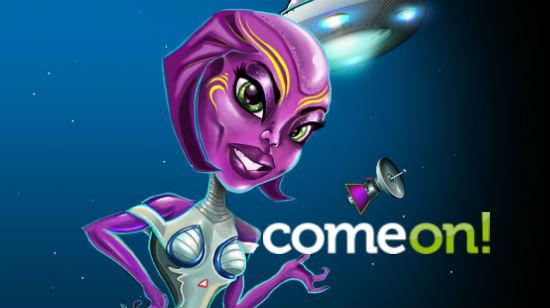 ComeOn! introduserer Cosmic Invaders og Burglin' Bob