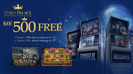 To nye spilleautomater, 243 måter å vinne på hos EuroPalace Casino!