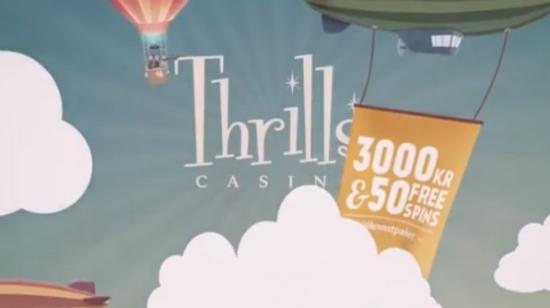 Spenningen fortsetter på Thrills Casino