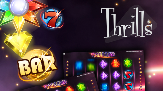 Thrills Casino deler ut 16 000 kr og 20 Super Spins