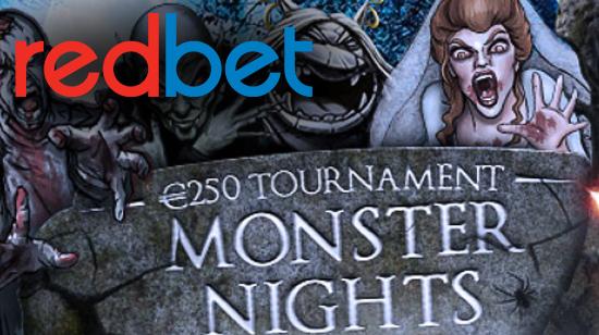 Konkurrer om din del av € 250 i Redbets Monster Nights-konkurranse!