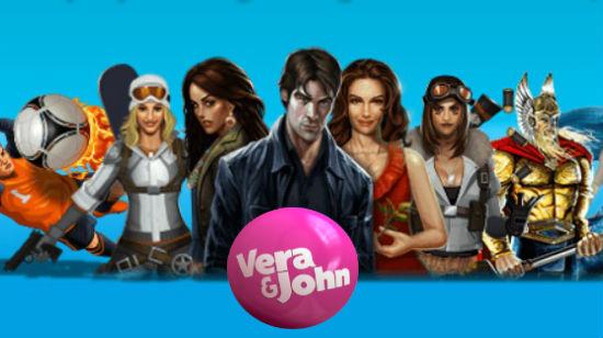 En heftig velkomstbonus er bare EN av grunnene til at du bør spille på Vera&John