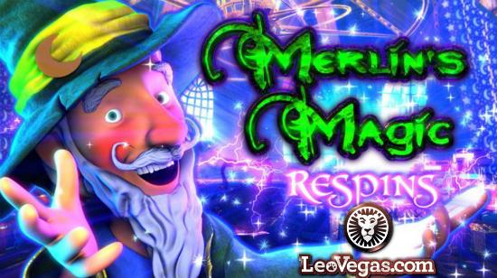 Merlin's Magic Respins venter deg hos Leo Vegas!