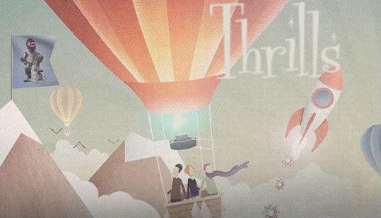 Registrer deg hos Thrills via lenken vår og få en bonus på opptil NOK 5000 pluss 50 gratis spinn!