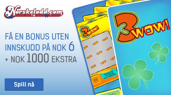 Vinn NOK 10 millioner hos Norskelodd
