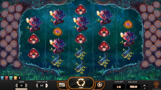 Spill Magic Mushrooms hos Vera&John