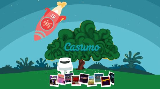 Gjør krav på dine 100 % ekstra og 110 gratis spinn hos Casumo!