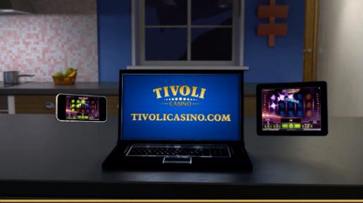 Tivoli lanserer mobilt casino