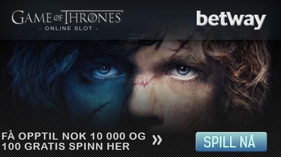 Gjør deg klar til å spille den nye Game of Thrones-spilleautomaten hos Betway