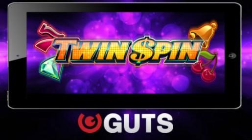Guts deler ut 15 gratis spinn på Twin Spin – Helt uten innskudd!