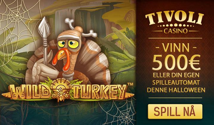 Tivoli Casino har et skremmende bra tilbud denne måneden