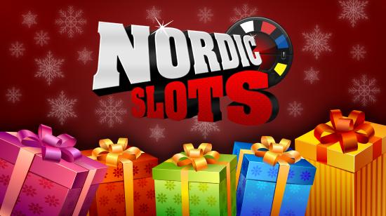 Julenissen gjør en spesiell reise til Nordic Slots!