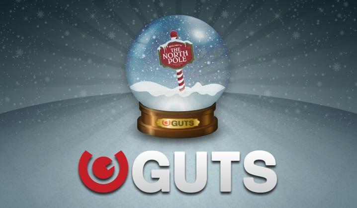 Gjør vei, GUTS har flere julebonuser å slippe fra sin slede!