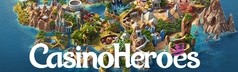 Opplev casino-eventyret ved hjelp av 300 gratis spinn hos Casino Heroes!