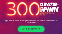 300 free spins iGame casinomagasinet liten