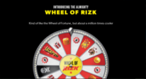 Rizk Race Wheel of Rizk