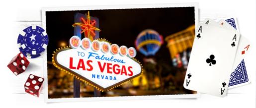 Vinn tur for 2 til Las Vegas med CasinoEuro
