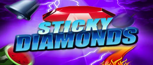 Test flett nye Sticky Diamonds slotmaskin
