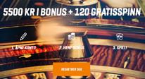 NordicBet bonus og free spins