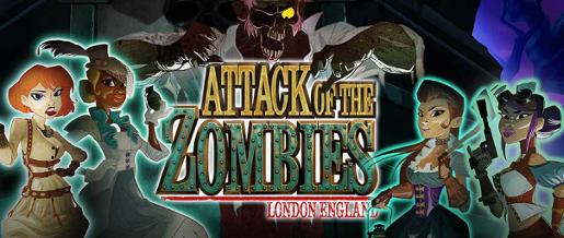 Prøv spillnyheten Attack of the Zombies hos Cherry Casino