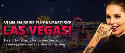 Vinn tur til Las Vegas med Vegas Casino!