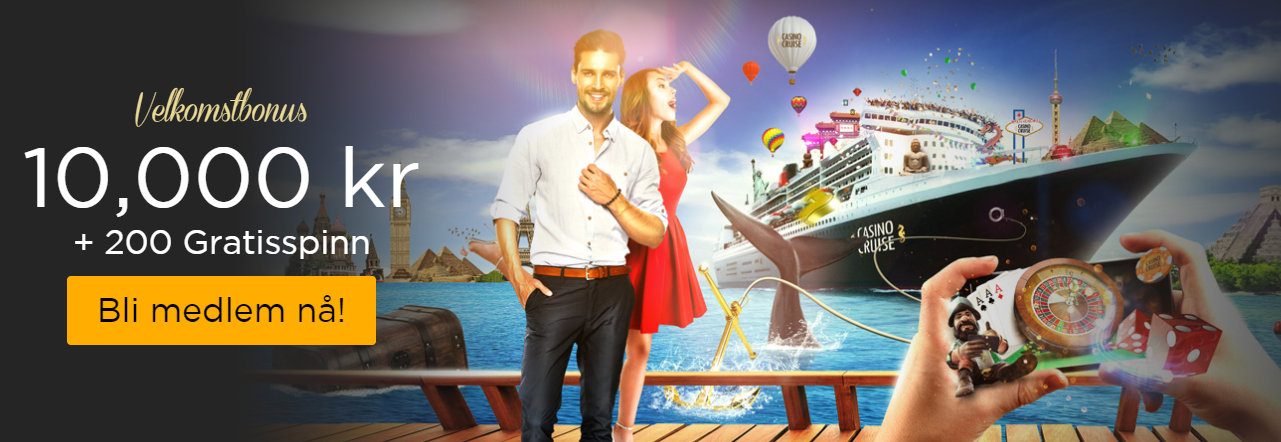 CasinoCruise velkomstbonus