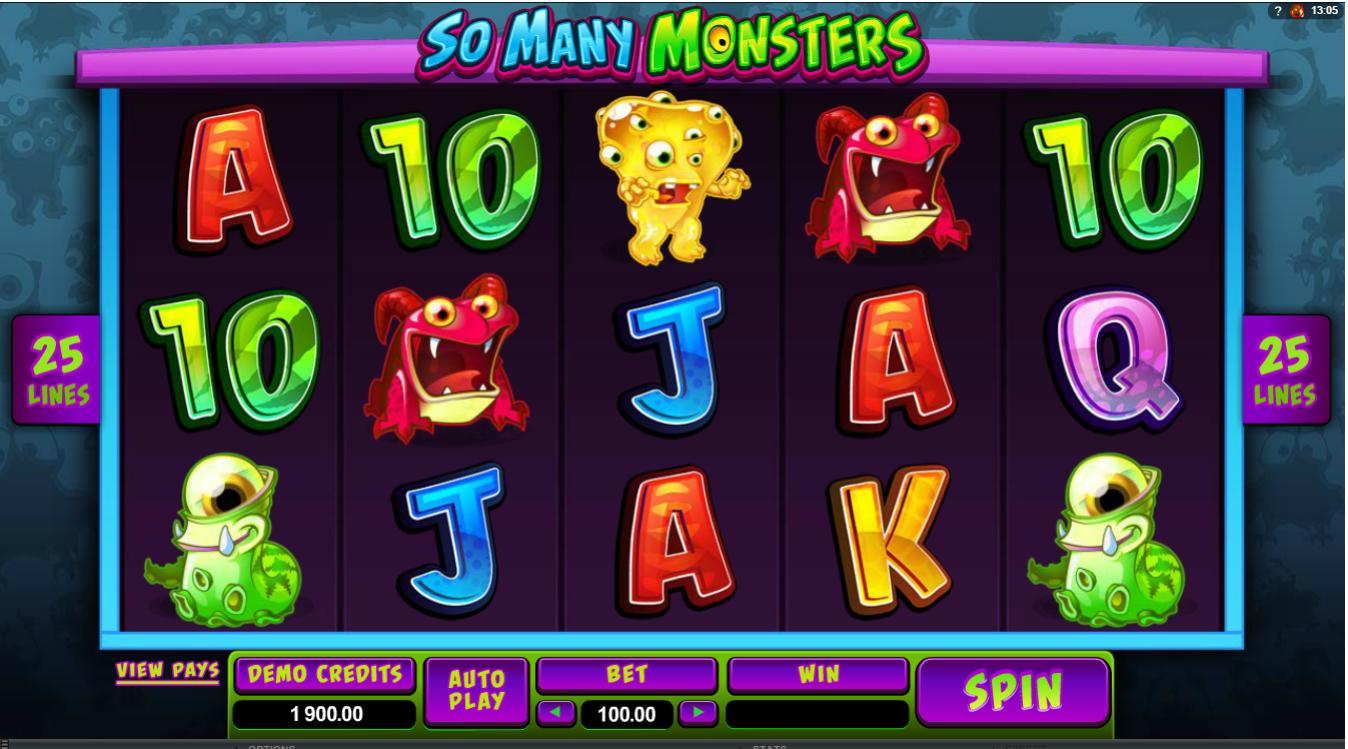 Monsterjakt hos NorskeAutomater.com!