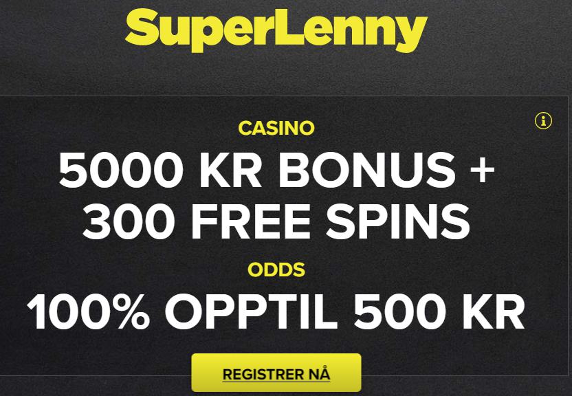 Spinn og vinn med Super Lenny!